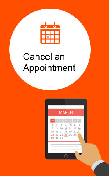 Cancel and Appointment